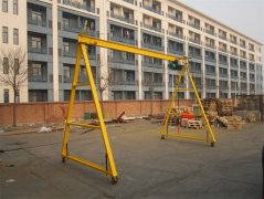 Simple gantry crane