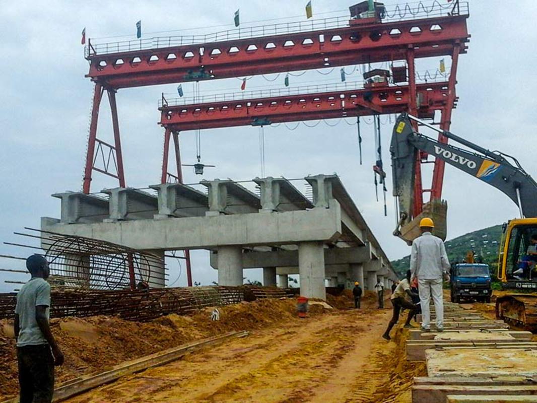 Bridge Beam Lifting Gantry Crane